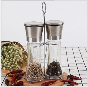 Adjustable design sea salt pepper grinder spice grinding