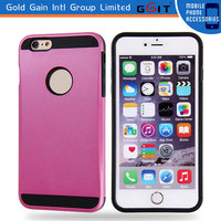 Matte TPU+PC Case for iPhone 6 Plus Back Cover