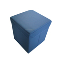 Fashion Color Coded Waste Fabric ottoman