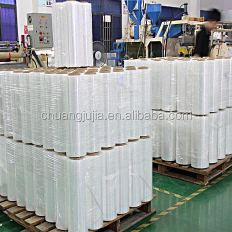 Custom surface protection transparent stretch PE cling wrap film