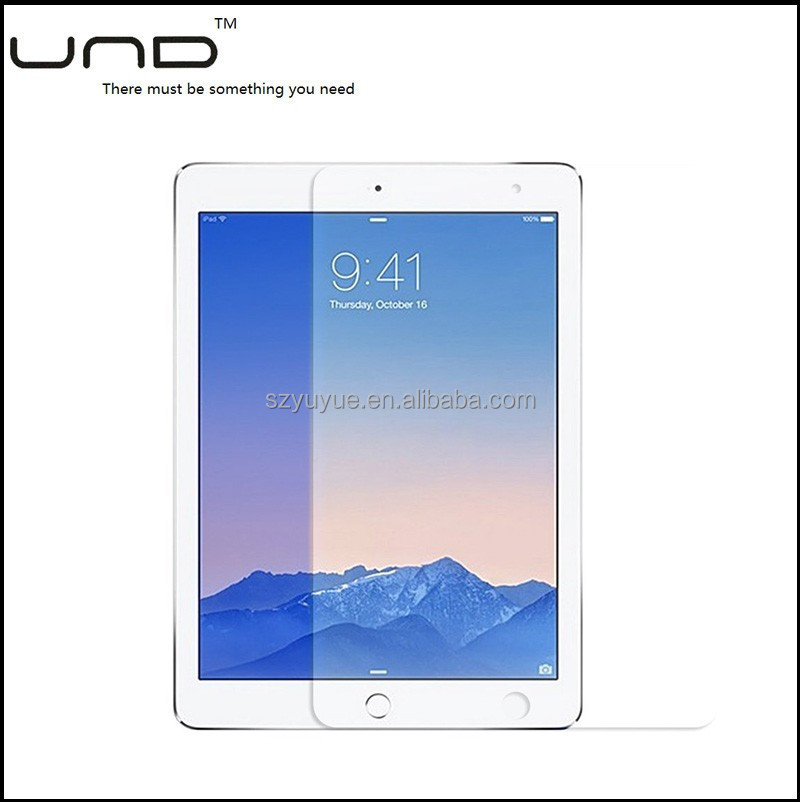 2017 0.2mm/ 0.33mm ultra thin tempered glass screen protector for ipad air 2