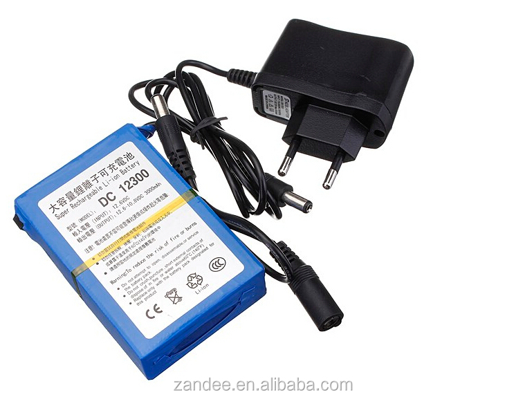Super LiFePO4 12v 3AH lithium iron phosphate battery monitor lighting rechargeable battery