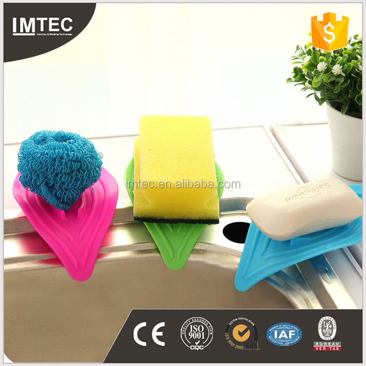 2016 IMTEC Strong Suction Bathroom Accessory Kitchen Tools plastic colorful eaf Soap Holder