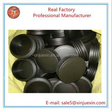 100mm large OEM plastic parts PP plastic pipe plug for office furniture