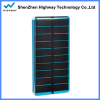 Exclusive design solar panel power bank external battery charger