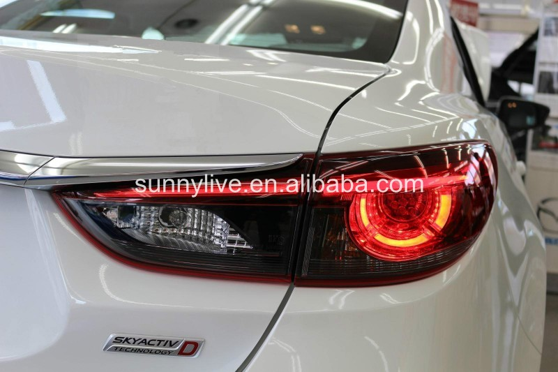 For MAZDA 6 ATENZA LED Tail Lamp 2013-UP year Red Color OEM style V2