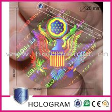new arrive special printing features hologram id card
