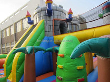 Large Inflatable Amusement Park inflatable slides for pool