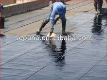 Waterproof elastomeric concrete coating