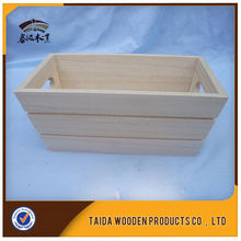 China Saupplier Cheap Solid Wood Wine Crates