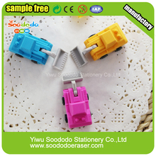 Shop Truck Rubber Eraser Promotion Motocycle For Kids
