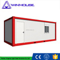Prefab Temporary Housing Steel Frame Sandwich Panel Container House