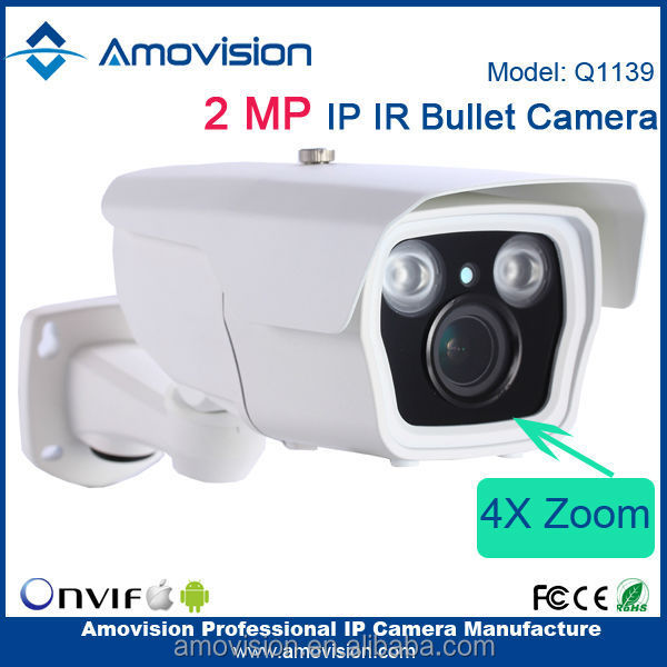 Amovision Q1139 H.264 waterproof Onvif 1080P android 4.2 tv box webcam with skype