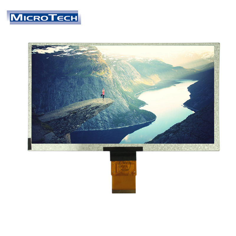 Wide operating temperature lcd module 9 inch tft lcd module