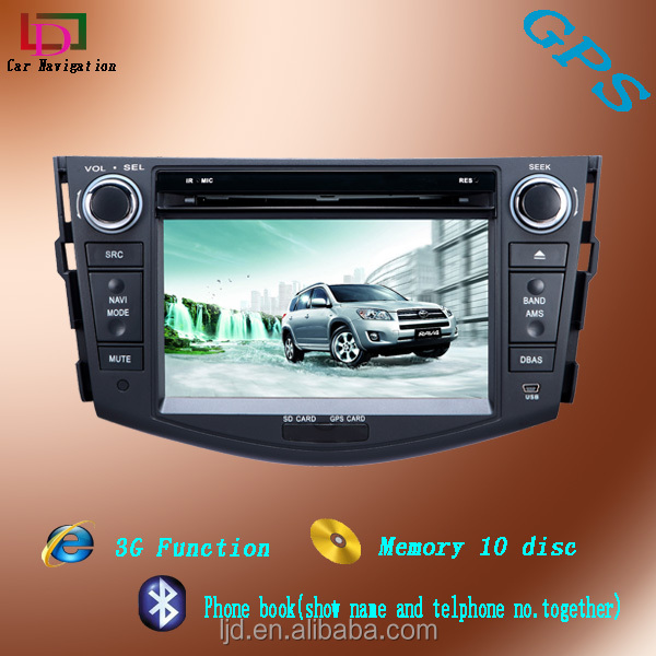 Toyota RAV4 android 2 din car DVD navigation with wifi 3g car audio