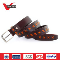 High quality leather fashion belt