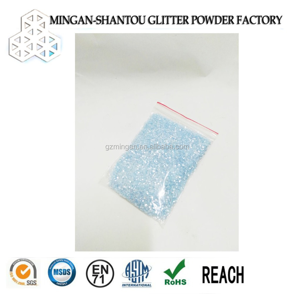 Colored Glitter for Acrylic Sheet for Shoes, Bags, Slippers
