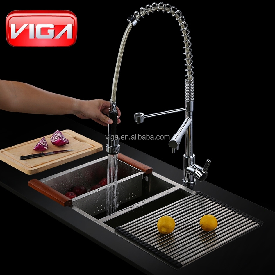 three ways kitchen faucet single handle sink mixer kitchen tap