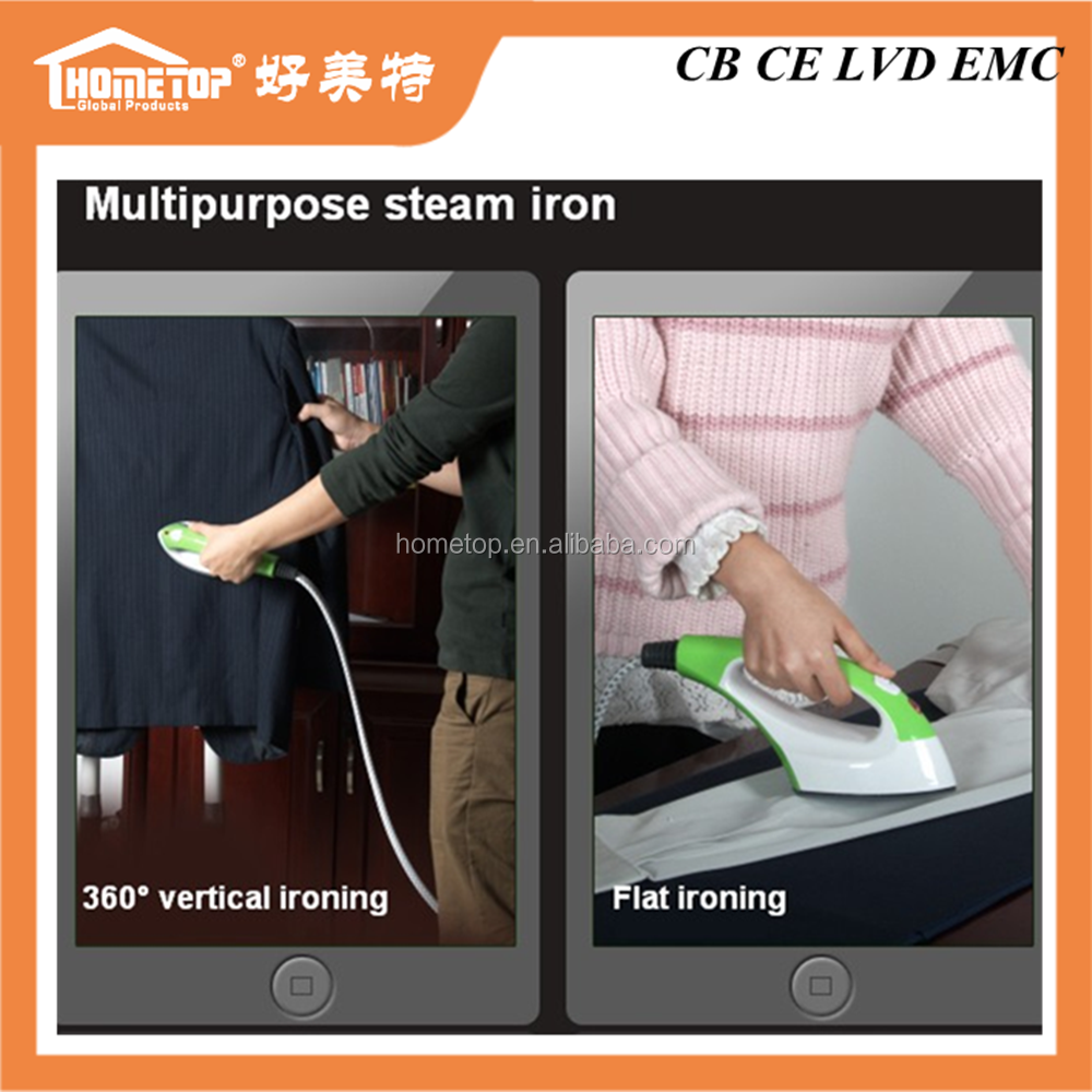 Mini or portable or handy clothes ironing machine , 1.1 Liter water tank garment steam irons / garment steamer