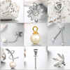 Renfook Jewelry Factory Wholesale differernt 925 sterling silver jewellery Findings