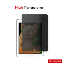Most Durable Privacy Filter Screen Protector For Ipad 2 3 4 air/air 2 New Version Tempered Glass with Retail Packaging