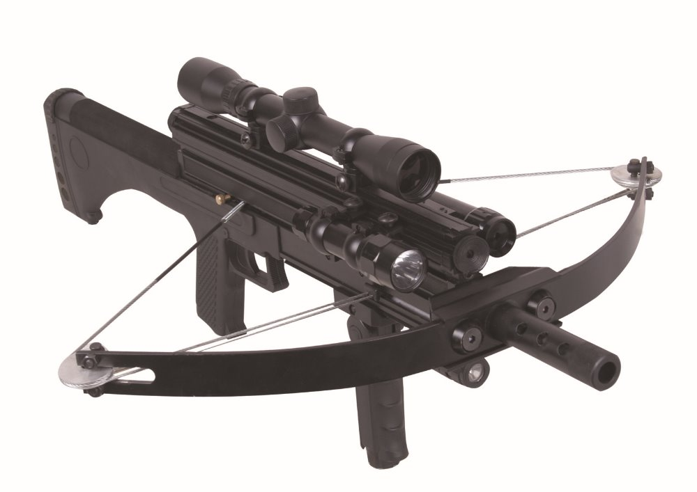 night use hunting crossbow with scope