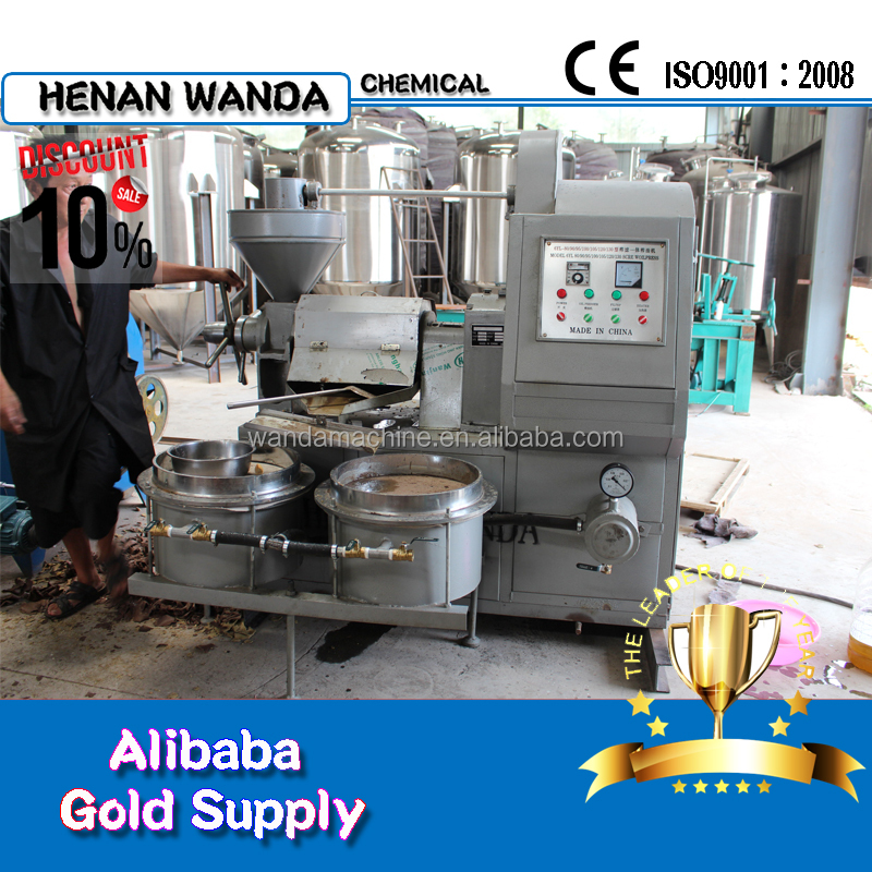 6YL series factory price corn germ oil expeller groundnut cooking oil press machine sunflower oil mill