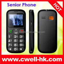 Quad Band GSM Senior Phone with Torch, FM Radio and Dual SIM Card