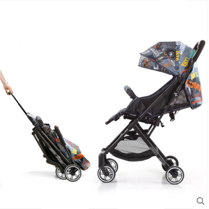 Reer Portable lightweight baby stroller multifunction baby stroller 2 in 1