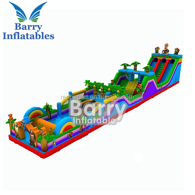 Hot adult inflatable obstacle course for sale , inflatable 5k obstacle