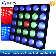 25x10w rgb 3in1 led matrix dmx512 disco dj background stage lighting