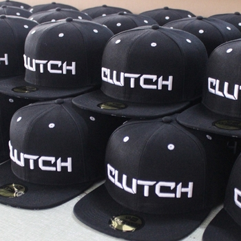 Wholesale promotional personalize design flat brim 6 panel snapback cap puff embroidery