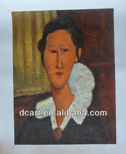 Amedeo Clemente Modigliani Oil Painting Artist Reproduce