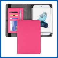 C&T Hot Sale book style leather cover for ipad 2