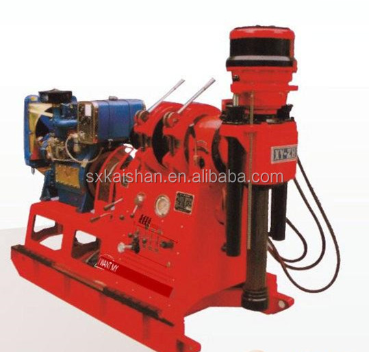 XY-2 portable mining hard mental drilling for core geological prospecting core drilling rig