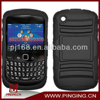 Stand cell phone case for blackberry curve 8520