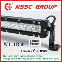 Lifetime Warranty 4-52 inch Off Road Car 4X4 PICKUP SUV JEEP Driving LED Offroad Light Bar