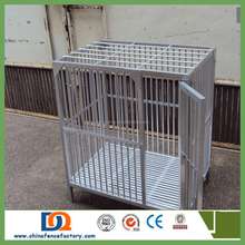 dog cage manufacturer (Anping factory, China)/welded Pet dog cage with tray (pvc coated)JX