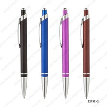 Economic promotional gold black metal pen