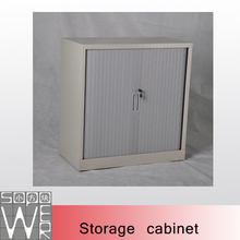 steel metal lockable roller shutter door office cabinet