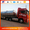 trailer, trailer truck ,high quality 3 Axle Aluminum Alloy Fuel oil petrol chemical diesel tank semi Trailer tanker trailer