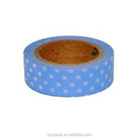 Custom printed colorful washy paper tape