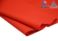Red Color Cotton Poly Drill Twill Antistatic Fabric for Workwear