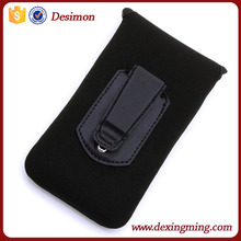custom neoprene belt clip holster pouch case for samsung galaxy s4 bag pouch