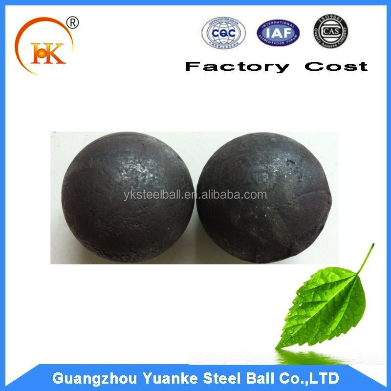 Cast steel grinding ball approved by SGS with high quality and good design