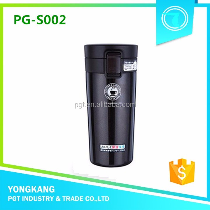 Hot PG-S002 thermal water bottle tea pot vacuum flask screw lid coffee bottle stainless steel travel mug inserts