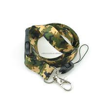 Camouflage Lanyard, Waterproof Heat Transfer Printed Lanyard with safty buckle