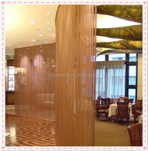 Unique modern style metallic drapery curtains(Manufacturers)