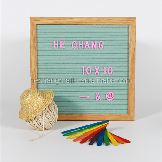 10x10 inch changeable letter board with letters