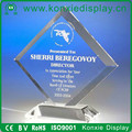 factory custom acrylic wholesale crystal award trophy